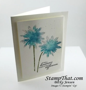 Stampin' Up! fLower Patch stamp set