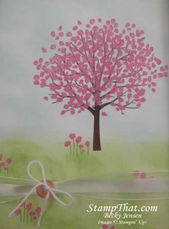 Spring Sheltering Tree