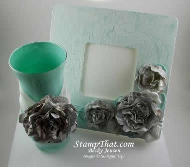 Vase & Frame set