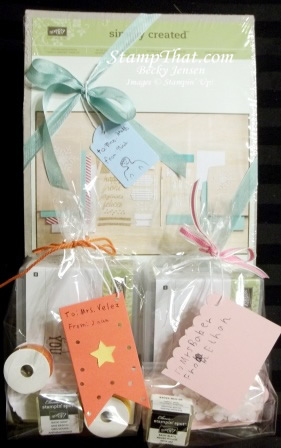 Teacher Appreciation Gifts - Stampin' Up! Style