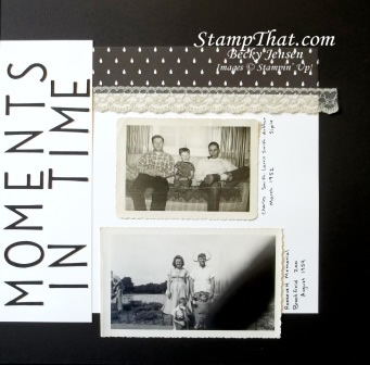 Scrapbooking Black and White Pictures