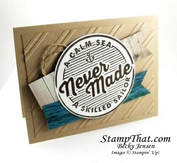 Stampin' Up! Adventure Awaits