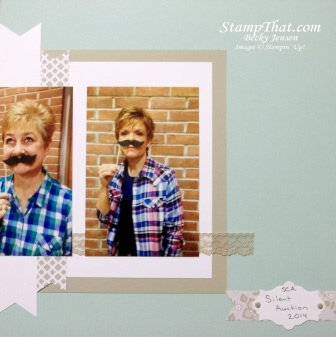 Stampin' Up! Traditional Scrapbooking