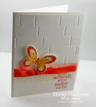 Stampin' Up! Watercolor Wings stamp set