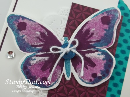 Stampin' Up! Butterfly