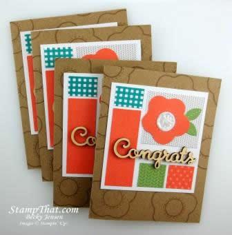 Congrats cards
