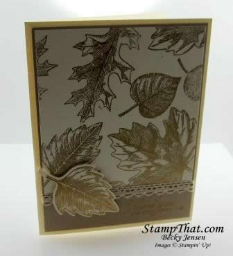 Leaf stamp set