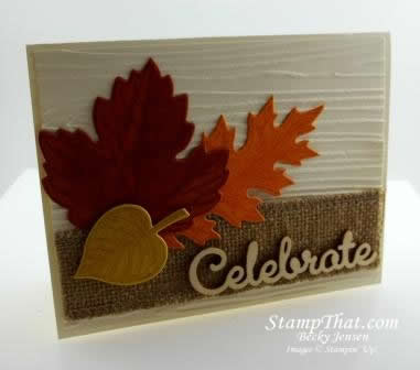 Vintage Leaves stamp set