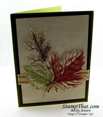 Stampin' Up! Vintage Leaves stamp set