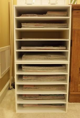 Designer Paper Storage