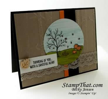 Stampin' Up! Happy Scenes