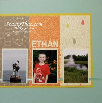Stampin' Up! Scrapbooking