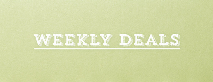Weekly Deals for March 1-7, 2016