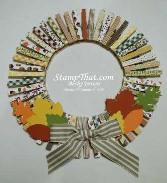 Fall Wreath for kids to make