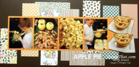 Apple Pie Scrapbooking