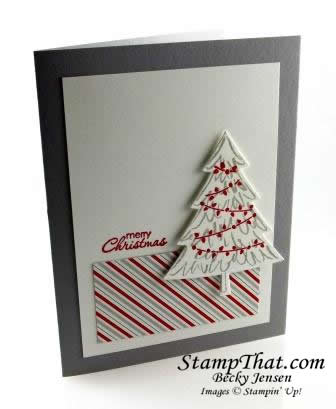 Peaceful Pines stamp set