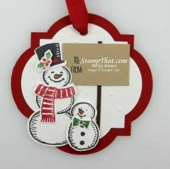 Snow Place stamp set