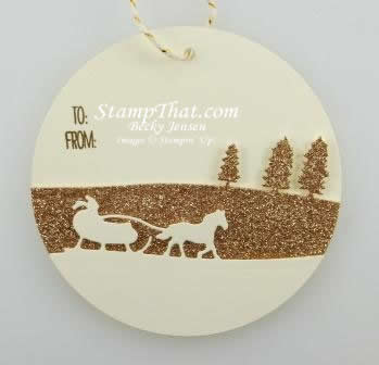 Stampin' Up! Sleigh Ride