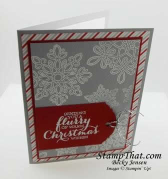Flurry of Wishes stamp set