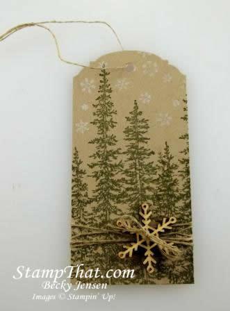 Handmade Christmas Tag