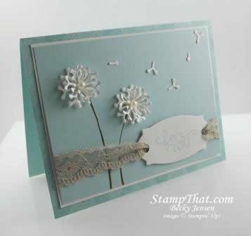 Birthday Blooms stamp set