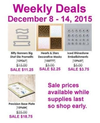 Stampin' Up! Sale items
