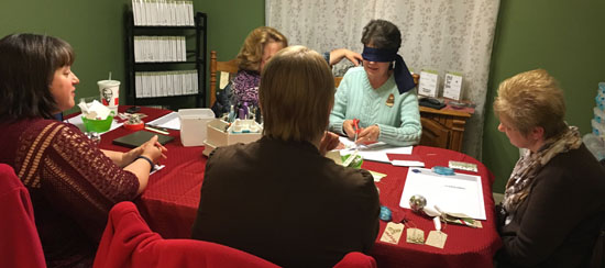 Making a Card Blindfolded