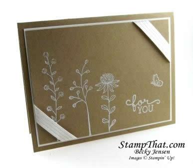 Stampin' Up! Flowering Fields stamp set