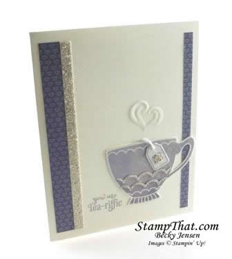 Stampin' Up! A Nice Cuppa