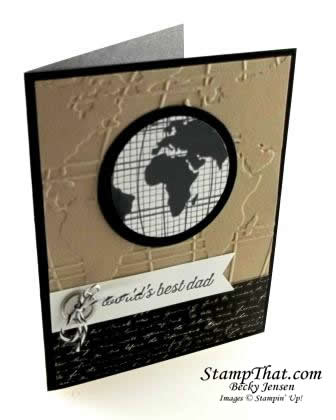 Stampin' Up! Going Global Stamp Set