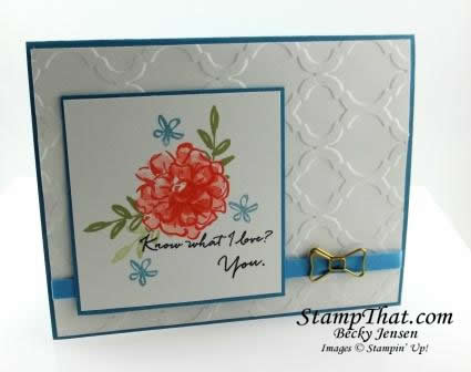 What I Love Stamp Set From Stampin
