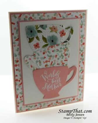A Nice Cuppa stamp set