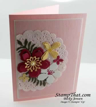 Botanical Blooms stamp set