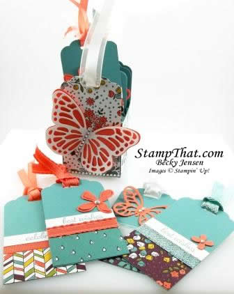 Bags & Tags Stampin' Up! class
