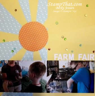 Scrapbooking with Stampin' Up!