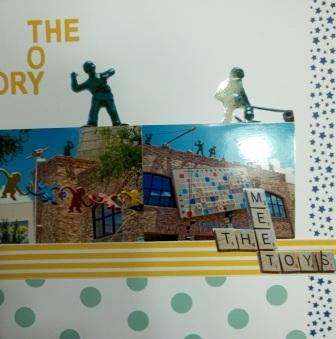Scrapbook with Stampin' Up!