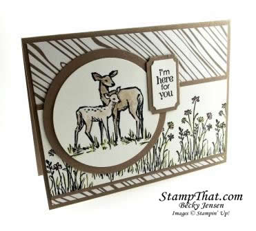 In the Meadow stamp set