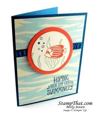 Seaside Shore stamp set