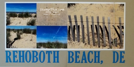 Rehoboth Scrapbook page