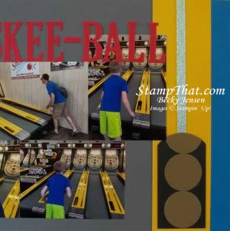 Skee-Ball at Funland