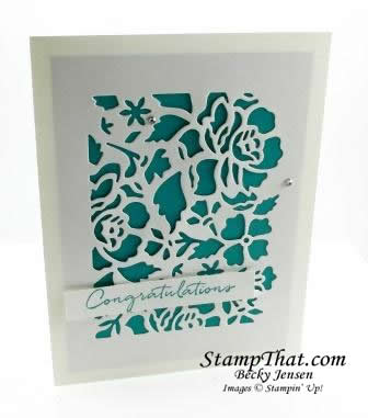 Floral Phrases stamp set