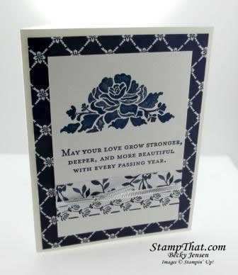 Stampin' Up! Floral Phrases