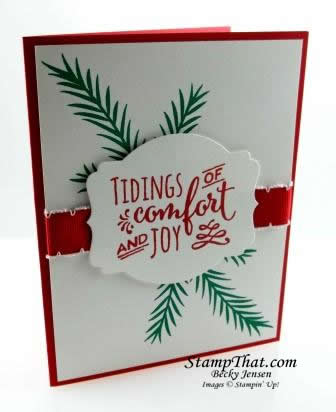 Stampin' Up! Christmas Piness