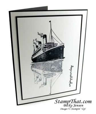 Traveler stamp set