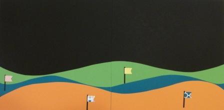 mini golfing layout