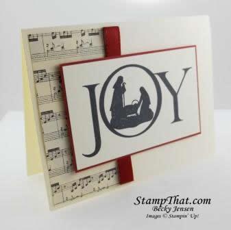Joyful Nativity stamp set