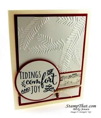 Christmas Pines stamp set
