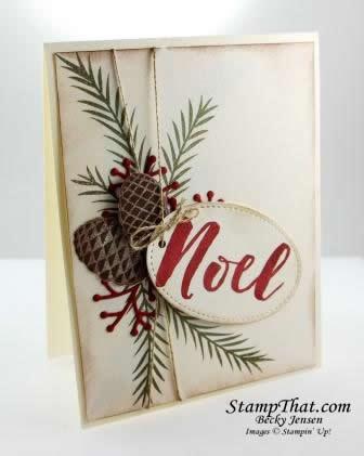 Christmas Pines stamp set