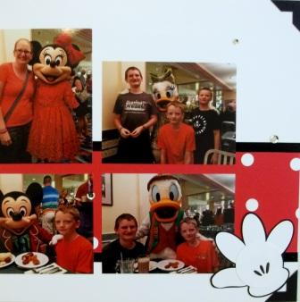 Scrapbooking Disney with Stampin' Up!