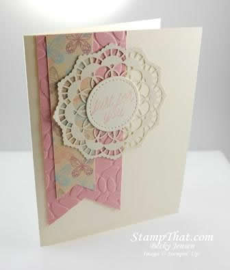 Stampin' Up! Lace Doilies